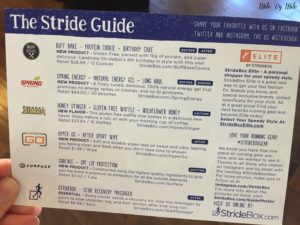 Stridebox Stride Guide
