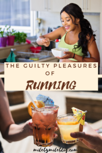 When you are obsessed with running, your probably follow some guidelines most of the time to stay healthy, safe, and injury free. But once in a while its nice to indulge in some guilty pleasures! Click post to read about some of the ways I indulge during and after a run. #run #running #runchat