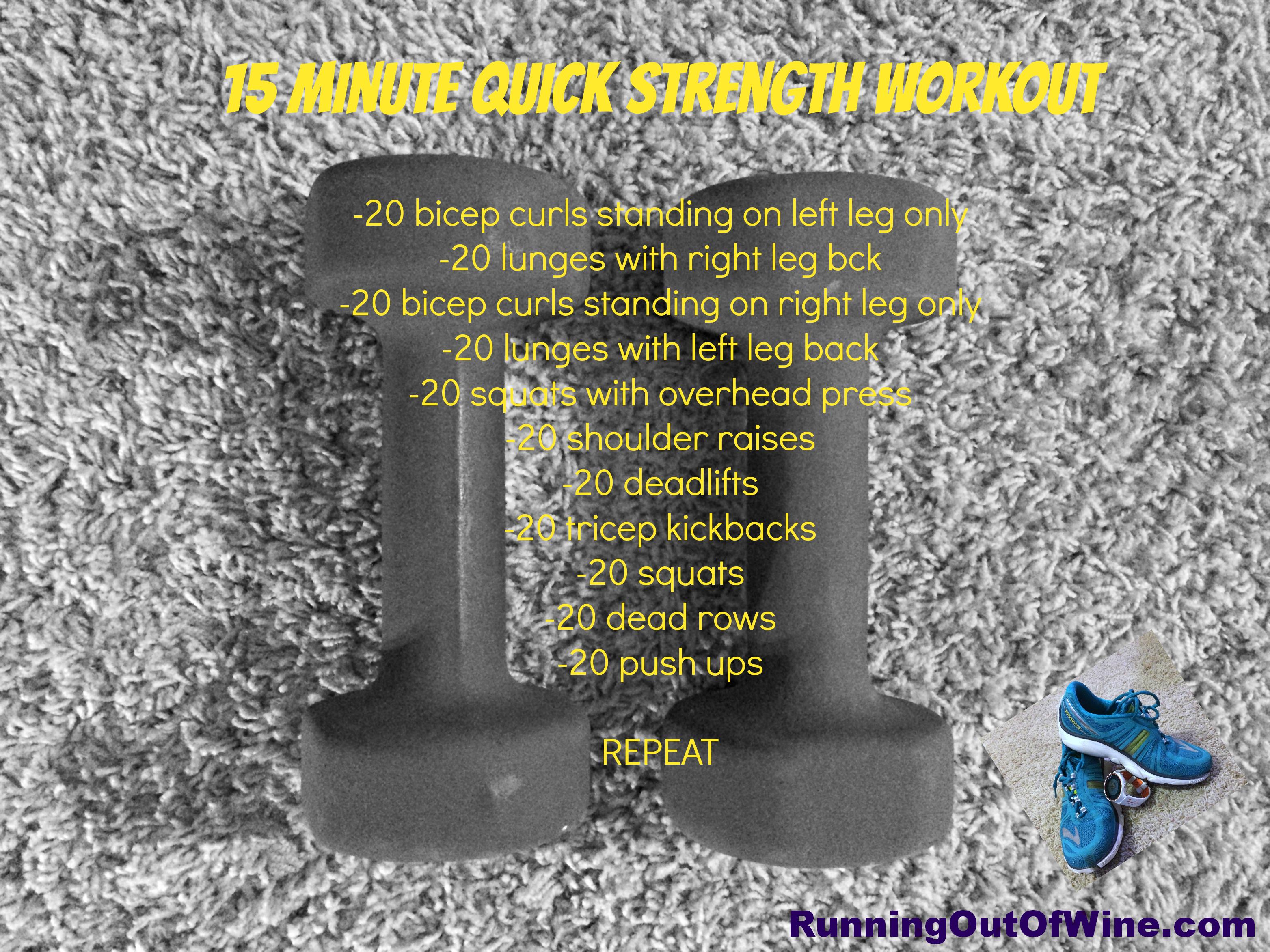 quick strength workout
