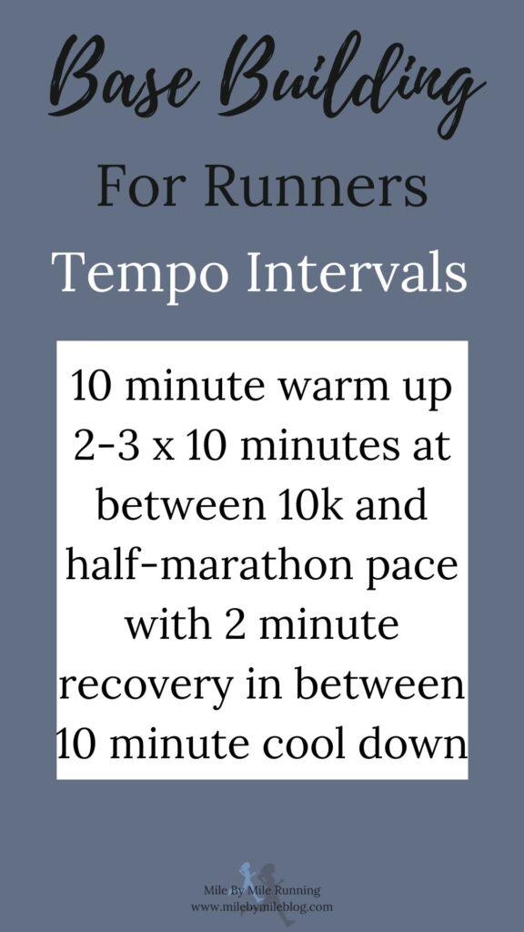 Tempo intervals
