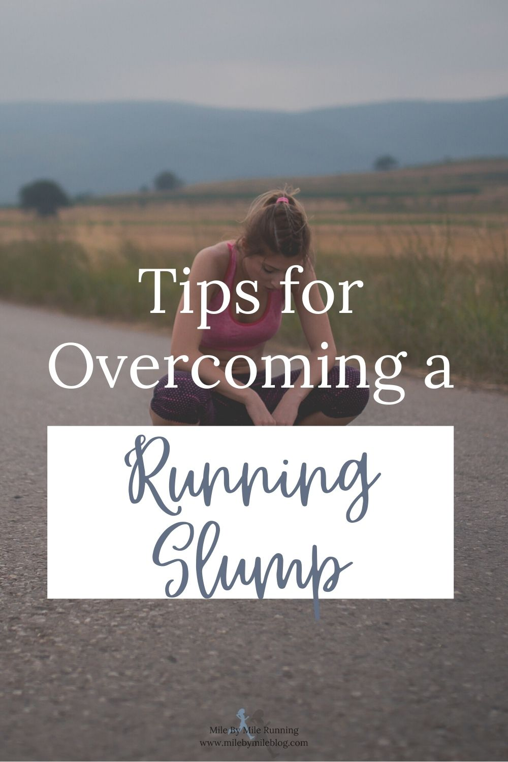 Feeling like your running just isn't progressing the way you would like? Here are some ways to overcome a running slump!