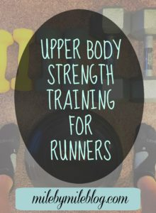 Upper Body Strength Training Workout for Runners
