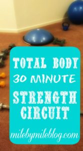 Total Body 30 Minute Strength Circuit