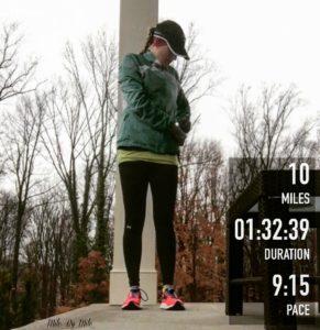 10 mile rainy run