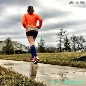 sunday rainy run
