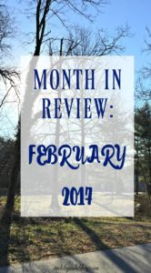 February is over, which means it's almost spring! It's time to review progress this month and plan goals for March. #goals #running #fitness