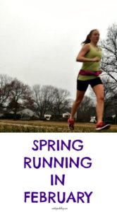 60 degree mornings in February? Not typical Baltimore weather at all. But it did make for some great running weather!