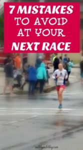 Don't make the same racing mistakes I did! Be prepared before your next race to avoid these common racing mistakes.