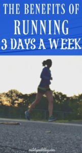 Do you have to run more to get faster? Not necessarily. There are many benefits to following a 3 day per week running schedule. It can also help prevent injury. Click post to read more.