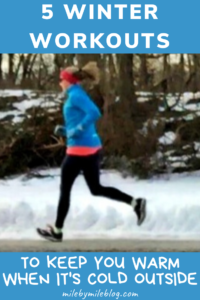 Looking for a quick but efficient workout to warm you up during the cold winter months? Here are some ways to change up your workouts to get nice and sweaty even when it's cold outside. #workout #fitness
