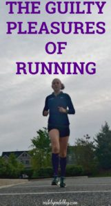 When you are obsessed with running, you probably follow some guidelines most of the time to stay healthy, safe, and injury free. But once in a while its nice to indulge in some guilty pleasures! Click post to read about some of the ways I indulge during and after a run. #run #running #runchat