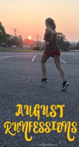 It's the last Friday of the month which means it's time for runfessions! Let's talk about summer running, jogging strollers, and running shoes! #fridayfive #running #runfessions