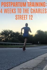 4 Weeks to the Charles Street 12