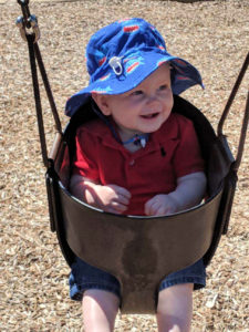 grayson swing at park