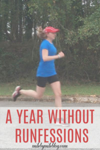 Somehow it's been a full year since I wrote a runfessions post! This one talks about trying to work towards goals, reflecting on the past year, and taking time off from running when sick. #running #goals