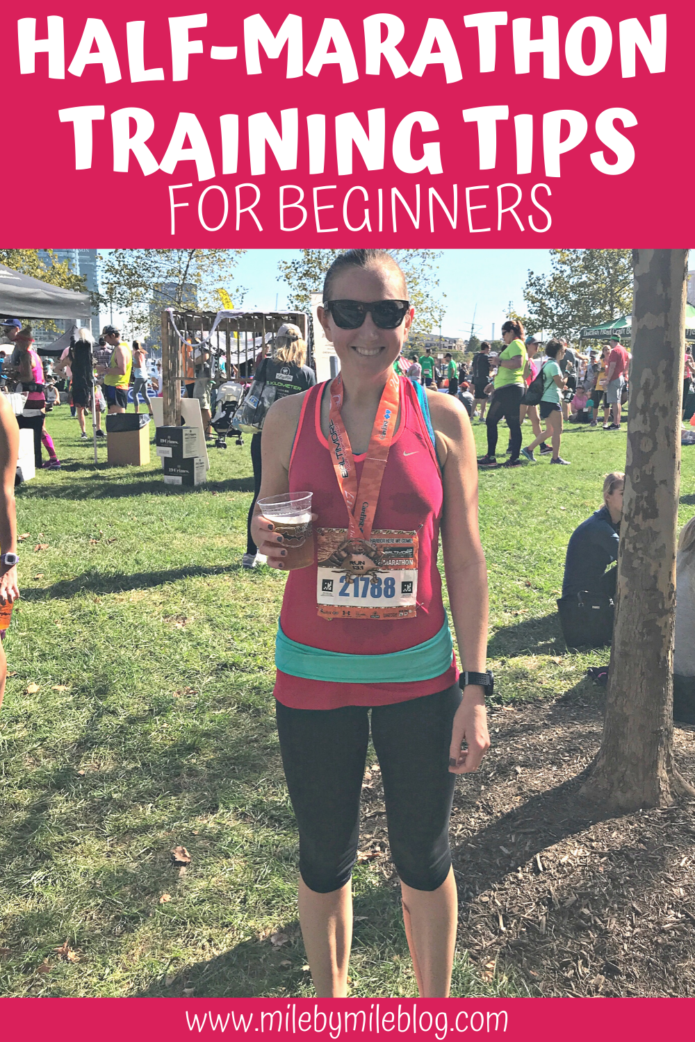 If you are a new runner planning to run a half-marathon, there are a few things you should know before training. Here are some half-marathon training tips for beginners to get you to the start line healthy and prepared. #halfmarathontraining