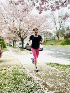 Deborah running