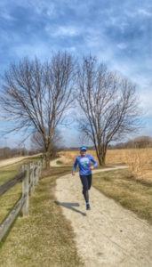 Marcia's trail run