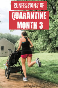It's time for monthly runfessions! And now that it's the 3rd month of quarantine, I have a few things to share. #runfessions