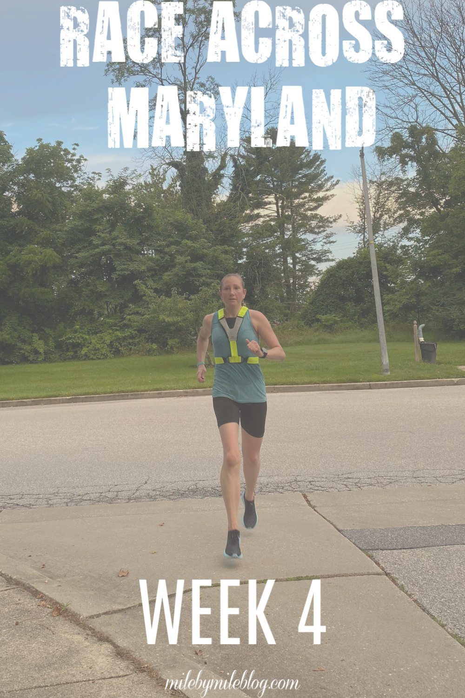 Race across maryland week 4