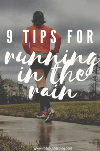 Running in the rain can be fun if you plan out your run and have the right gear! Most importantly, you need to stay safe when running in the rain but you also want to be comfortable. Check out the running tips from Mile by Mile about how to prepare for a run in the rain in order to be able to focus on your run, avoid chafing, stay comfortable, and stay safe. A rainy run can be a fun experience if you make some adjustments for your run.