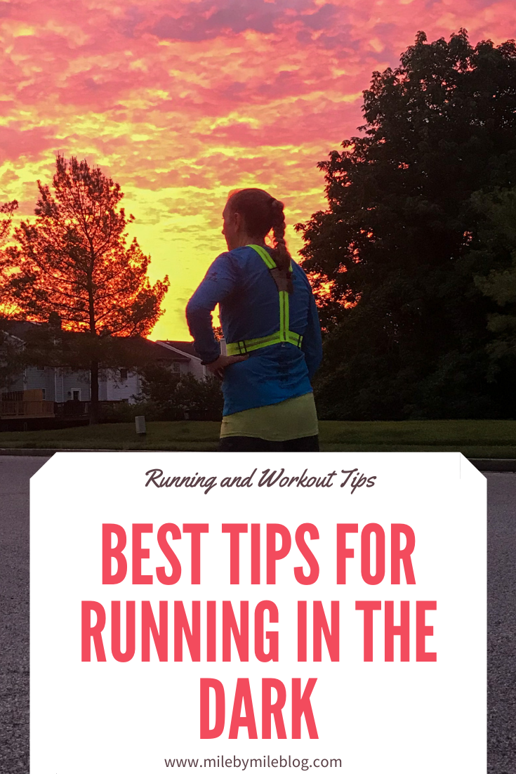 Morning or evening runners often find themselves running in the dark during many months of the year. You can still get in your run even when it's dark out. There are just some safety tips you need to keep in mind. Here are the best tips for running in the dark.