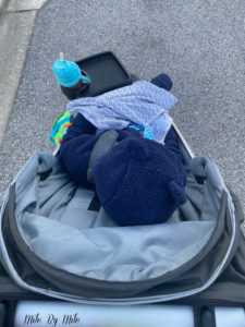 how to dress babies and toddlers for stroller runs in the cold