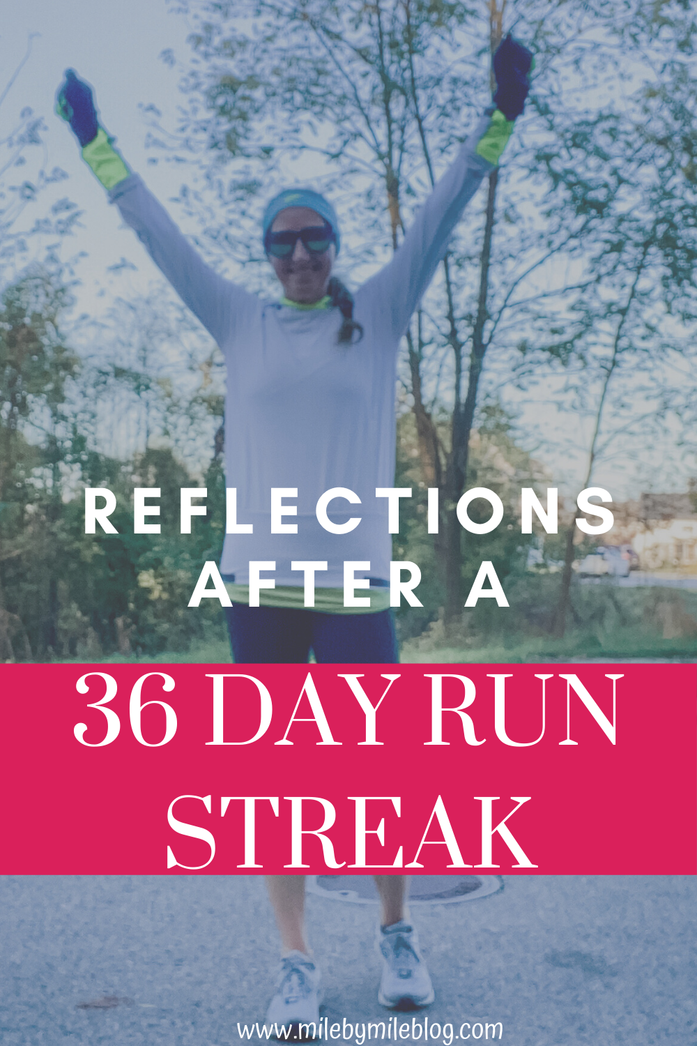 After my 36 day run streak, there are a few things I would do differently. Here is what I learned from my first run streak and tips what how to plan your runs if you decide to try a run streak.
