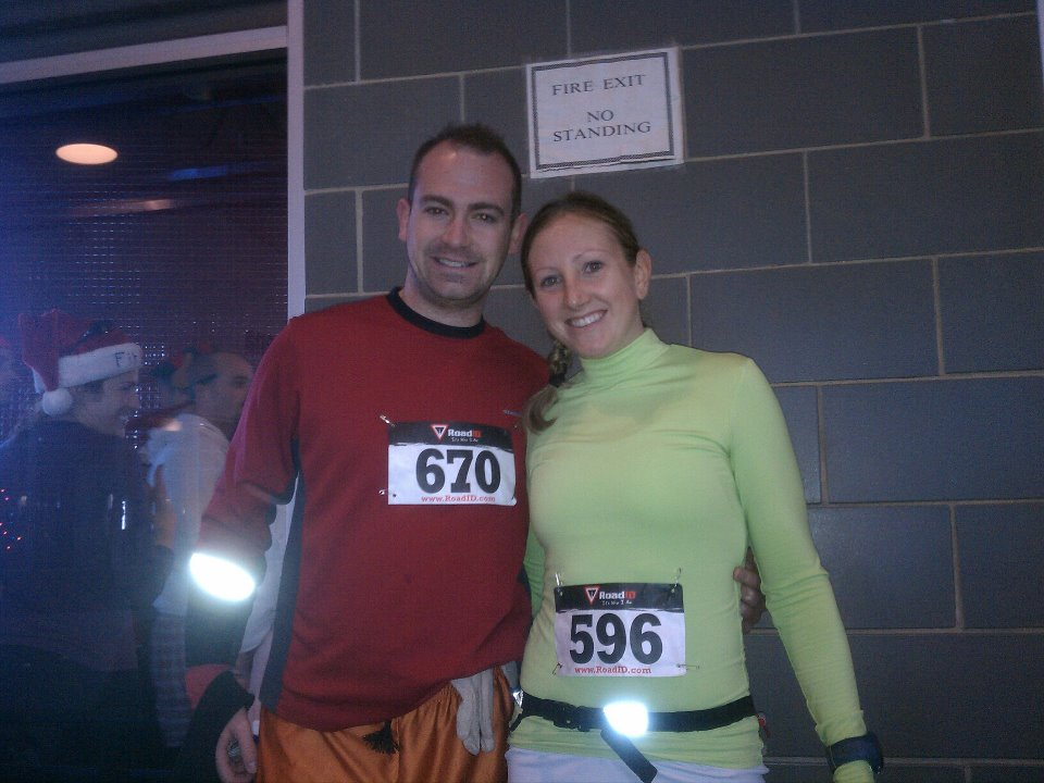 How to finish your running year strong- holiday race