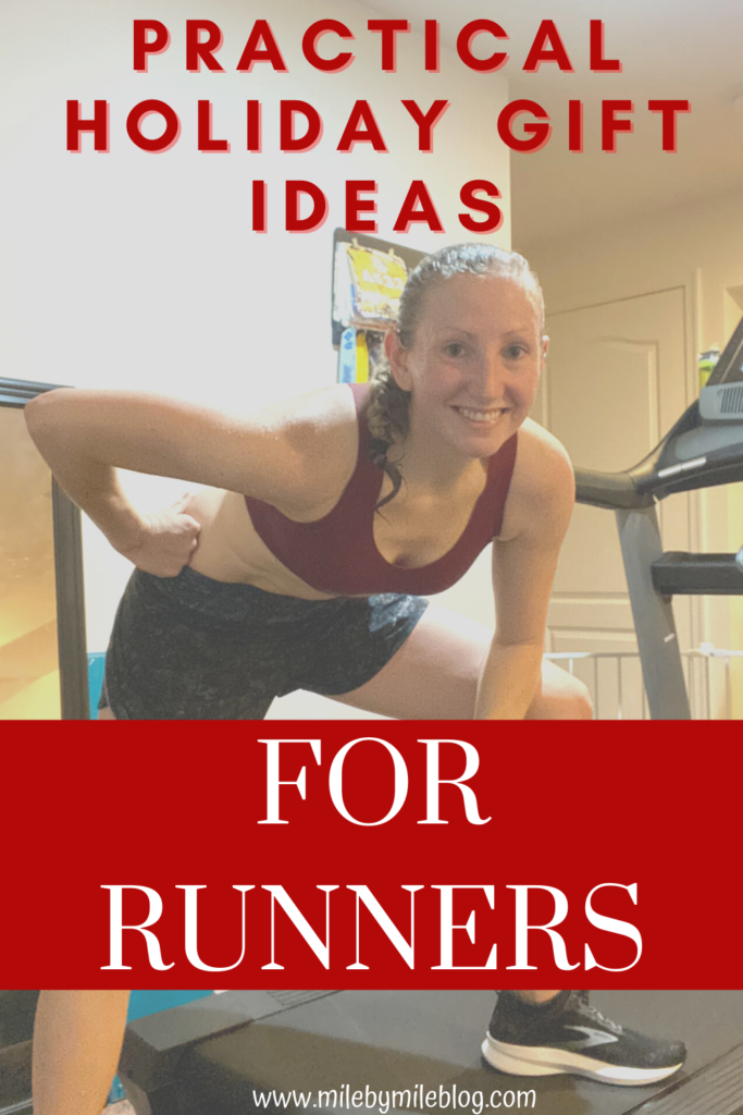Now that the holidays are quickly approaching, it's time to think about what to get for the special runner in your life. These practical holiday gift ideas for runners will be used all year long. Make sure to check out some of the running gift ideas for your running friends or for your own wish list!