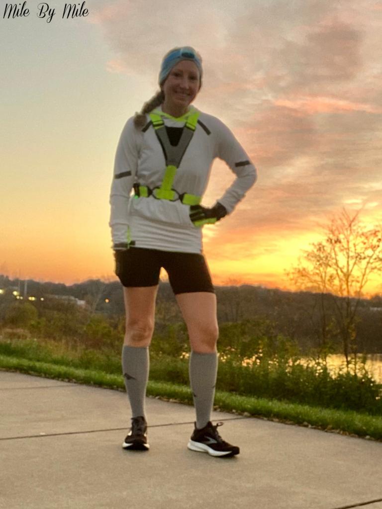 Saturday sunrise run