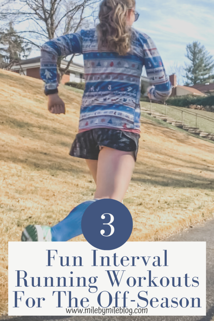 At least once a year runners should take a break from training and racing hard. This is a good time to have an off-season. You don't need to do all easy runs, and can incorporate some workouts like these fun interval running workouts for the off-season.