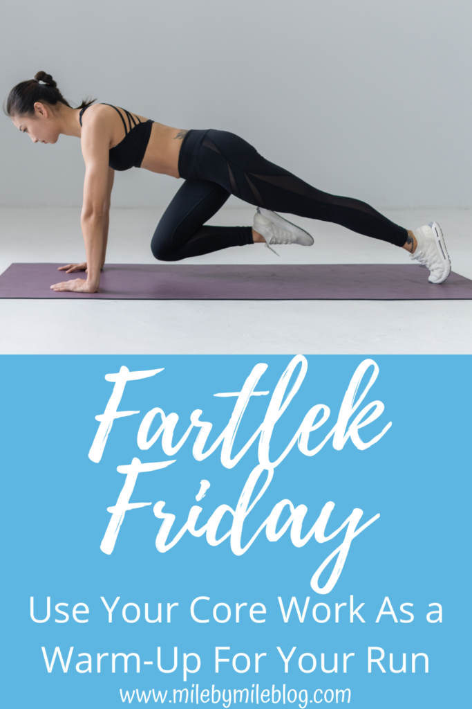 Doing core work before a run is a great warm-up, and it saves you time! Here are some of my favorite core exercises to do before a run. They get you warm and activate those important core muscles before you start running!