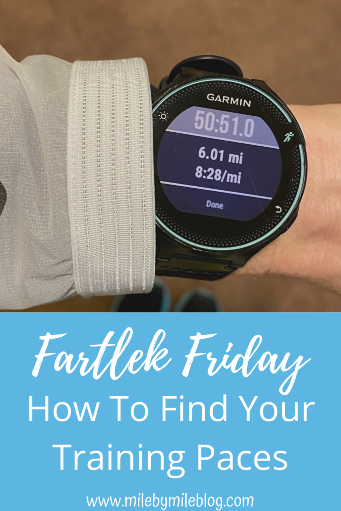 There are a few ways to find your training paces for runs. You can use a running calculator and enter your goal race time. You can also run by feel, or work with a coach who can help you adjust your paces based on your training and progress.
