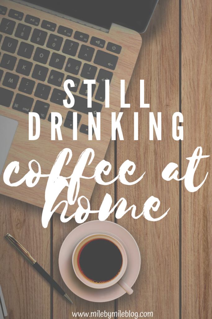 I'm taking a break this week from my Fartlek Friday posts to share some updates over coffee. It's been awhile since I did this, and I felt like I just needed to chat! I'm still drinking coffee at home, of course.