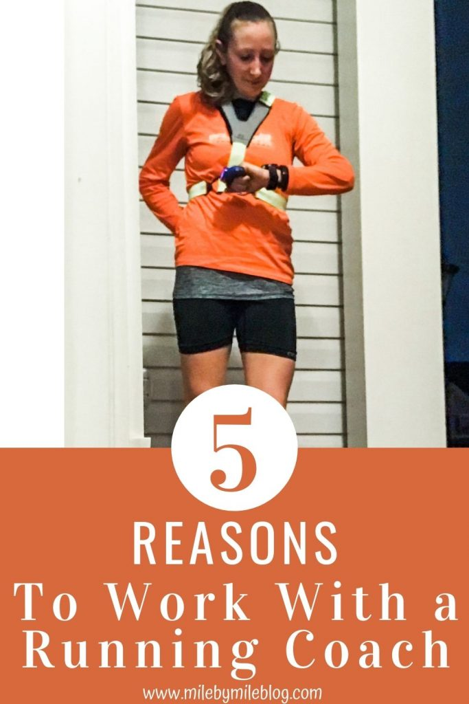 Now that races are starting to come back, many runners are considering how they want to train for their next race. Run for fun? Test the waters and just see where your fitness is? Or go all in for that new PR and work with a coach? There's no right answer; you have to find what works best for you. But in case you are on the fence about if you should work with a running coach, here are a few reasons why a coach can help you get that PR and reach your running goals.