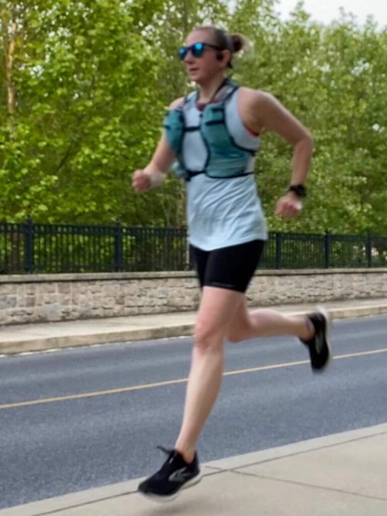 10 mile long run