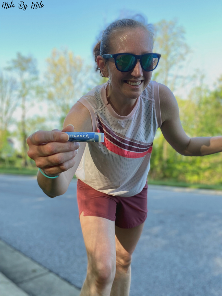 Summer running tip: Use lip balm with SPF