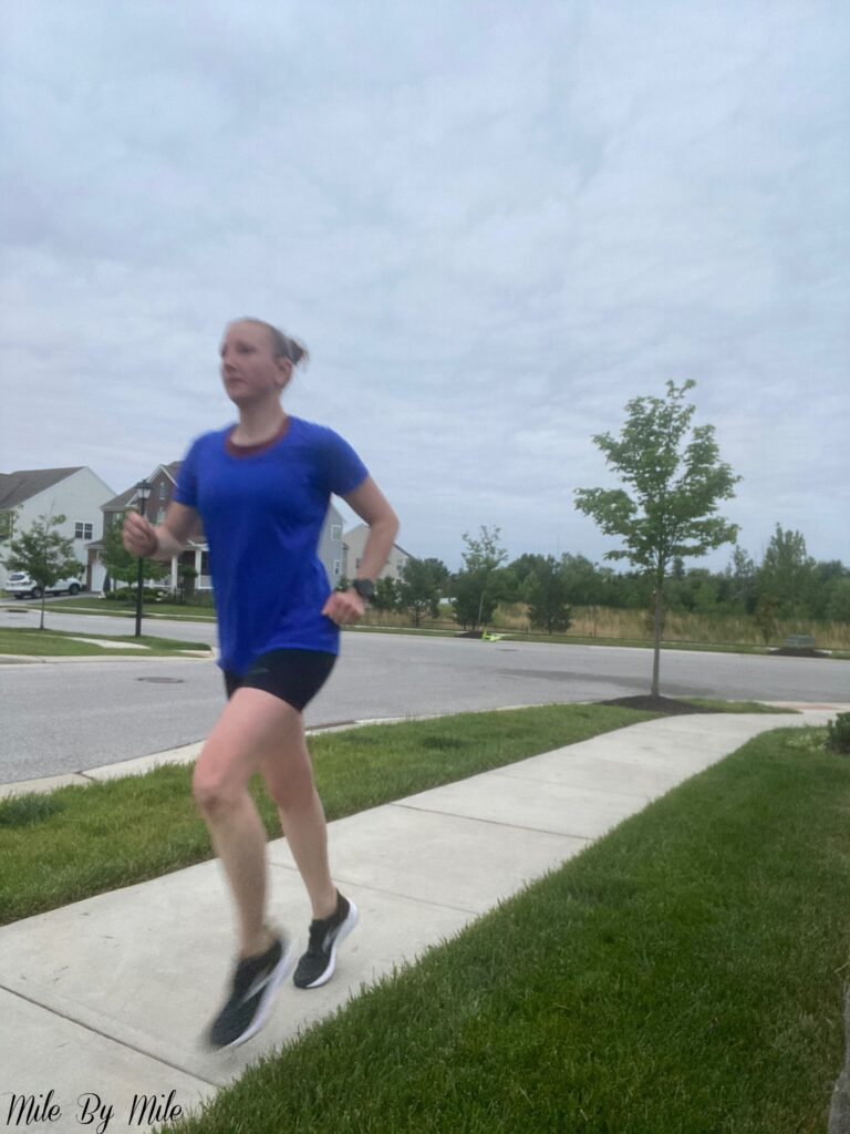 making slow and steady progress with a fartlek run