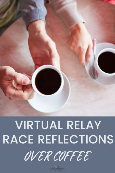 Last weekend I ran a virtual relay race as part of the Pittsburg Marathon. I'm not writing a race recap, but I did want to share a few race reflections! What better time to do that than over a warm cup of (strong) coffee? I have a few other things to share as well.