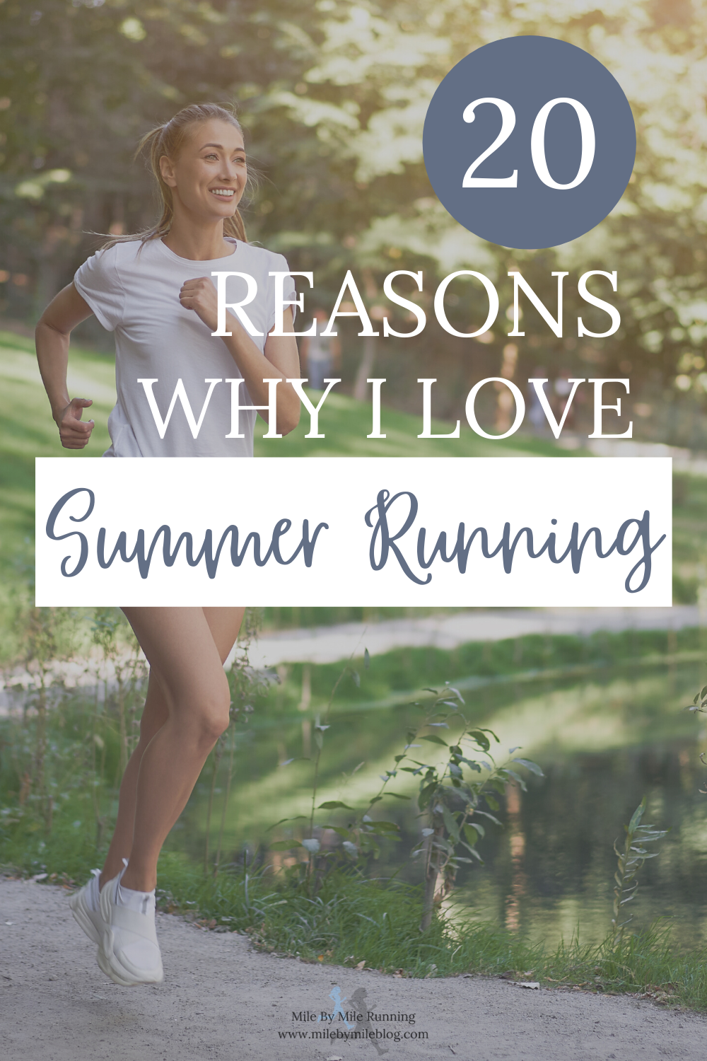 As much as I love summer running, I definitely do my share of complaining as the months go on. I thought this was a good time to highlight all the reasons why I love summer running. I plan to look back of this when I'm struggling with summer running. Maybe you can do the same!