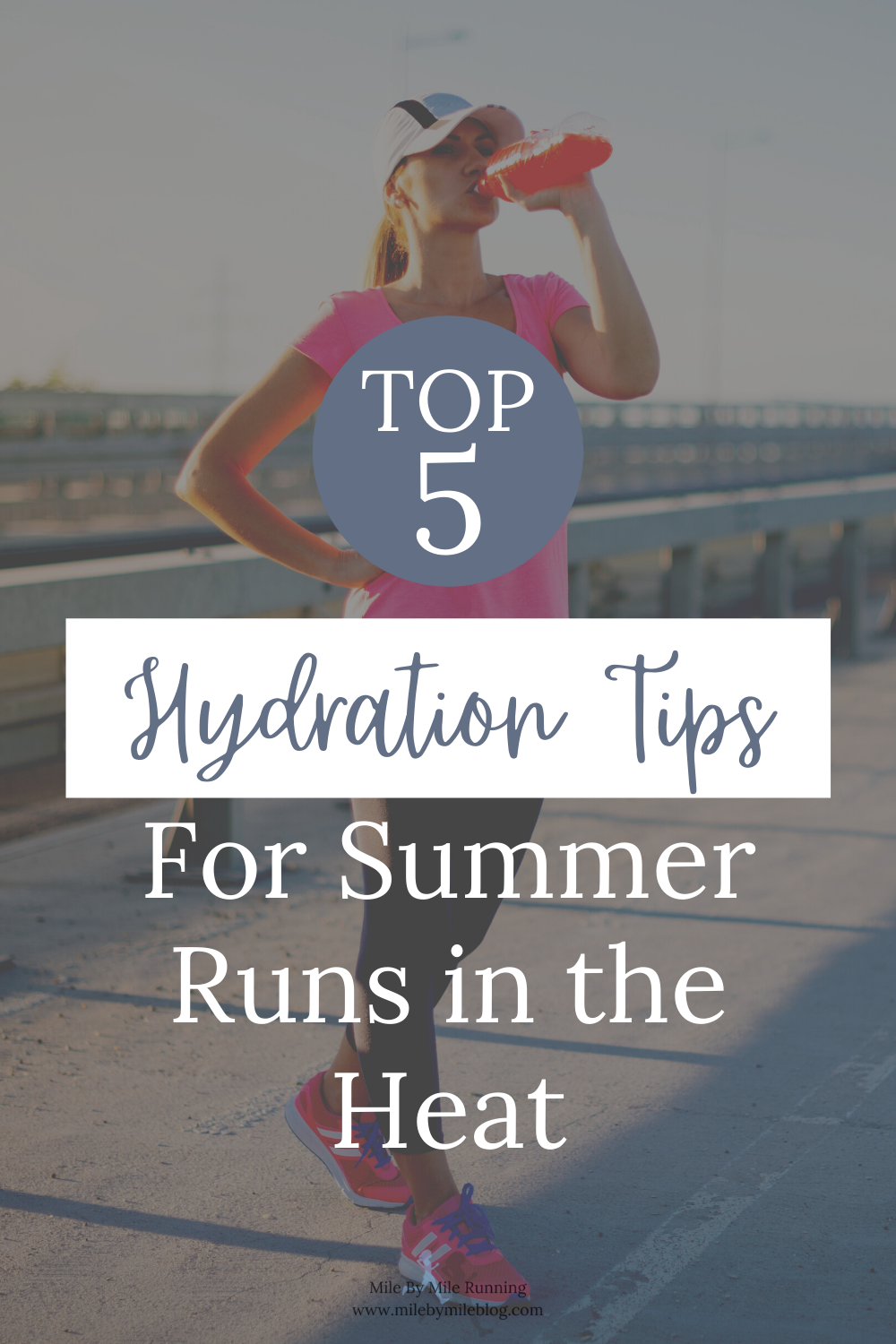 Summer is here, which means there is plenty of sun, humidity, and sweat. It can feel like it's impossible to beat the heat. Staying hydrated is one of the most important factors related to running safely and successfully all summer long. Make sure you check out these top 5 hydration tips for hot summer runs in the heat!