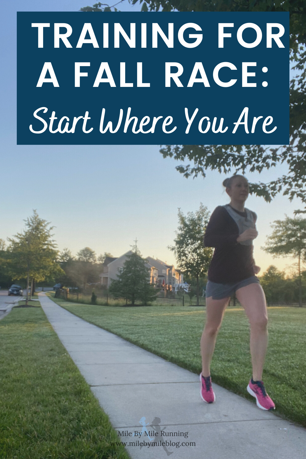 """I'm back after skipping last week's Weekly Run Down due to my blog being down! But everything is back up now so it's time to play catch up. Two weeks ago I started training for a fall race. I am hoping to do a marathon. but may consider doing a half if a full is too much. My motto as I've started training is """"start where you are"""". I will slowly build, add some speed, and see where it takes me."""