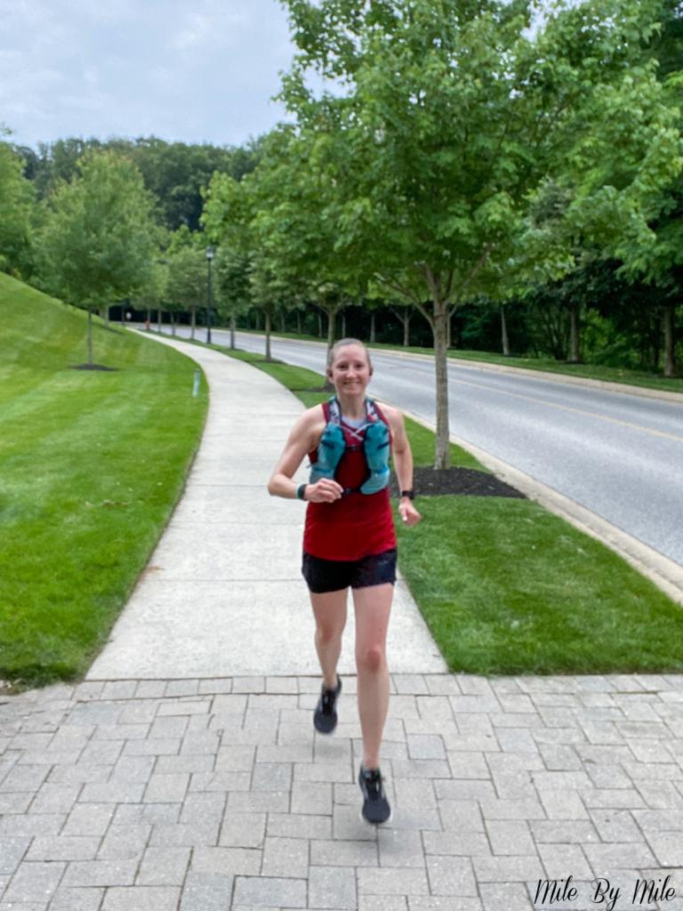 training for a fall race: long run