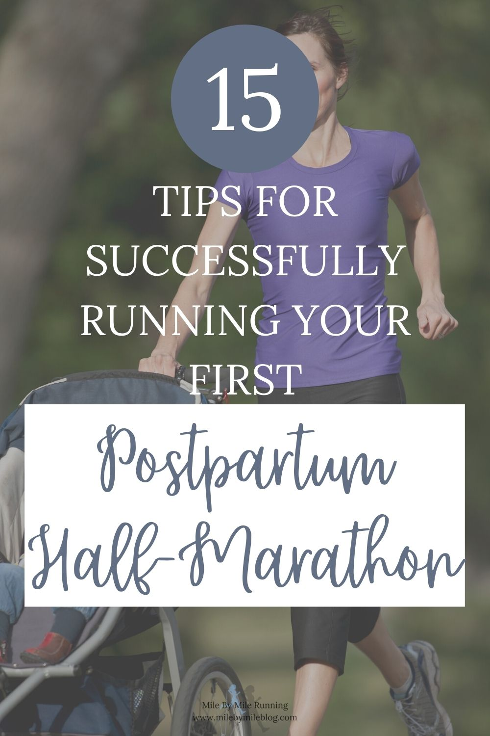 Navigating the world of postpartum running can be tricky, but also exciting to reach new milestones. One of those milestones may be returning to racing. For many postpartum runners a goal during their first year after giving birth may be to run a half-marathon. What do you need to know in order to successfully train for and run your first postpartum half-marathon?