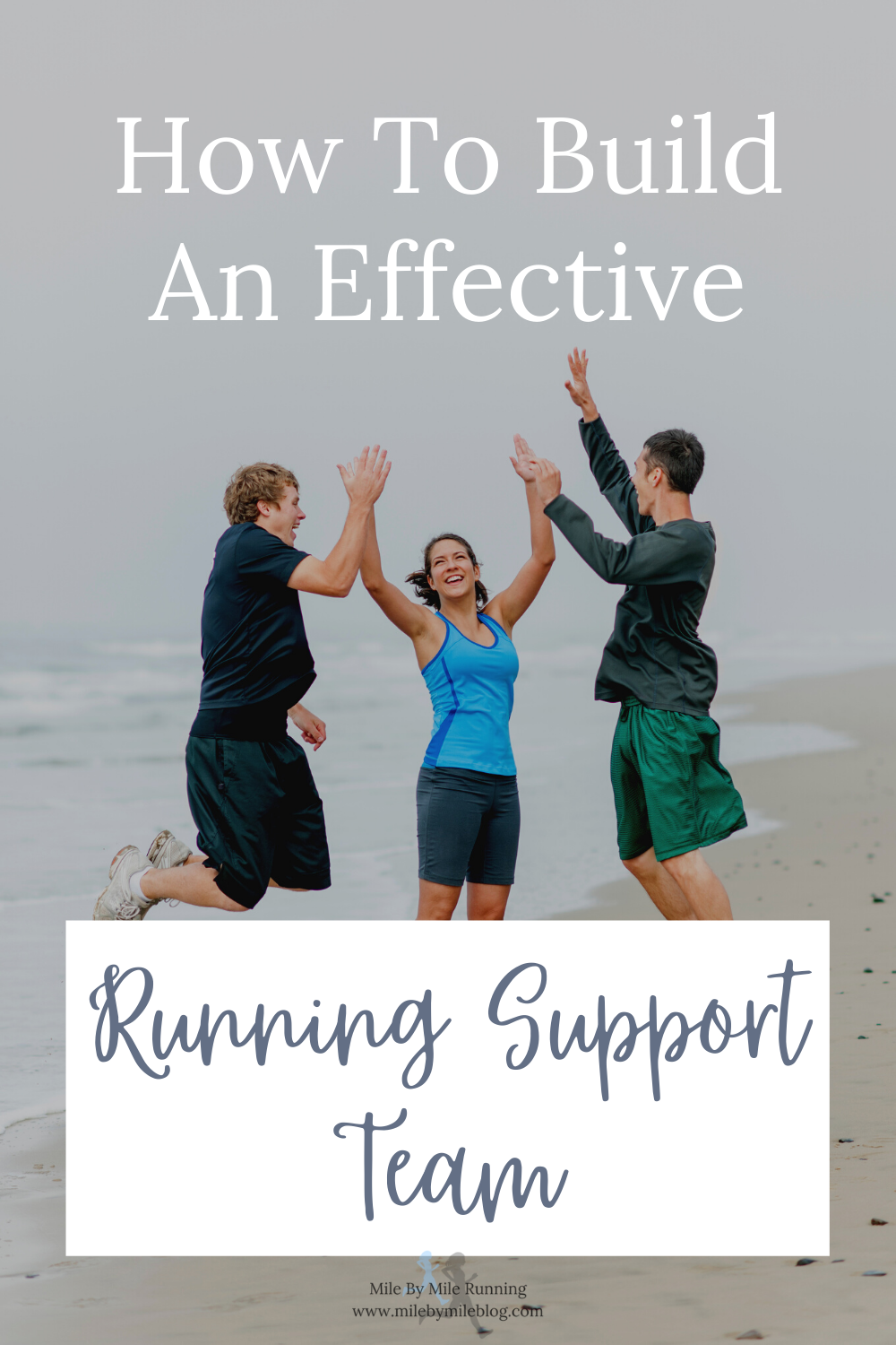 Do you have a running support team? You probably do, even if you don't realize it. Maybe you have a friend who you run with. Or a really good physical therapist. People who can support your running, while providing you with motivation and confidence, can all be a part of your support team. Here are some ideas for building an effective running support team.