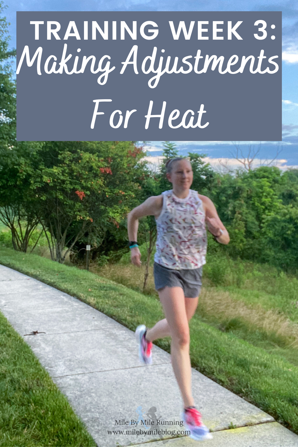 Another week of training is complete! It was another hot week with lots of adjustments for the heat. But it all worked out pretty well. I was also careful early in the week to make sure I was fully recovered from my 5k time trial last week. Here' a summary of how the week went.