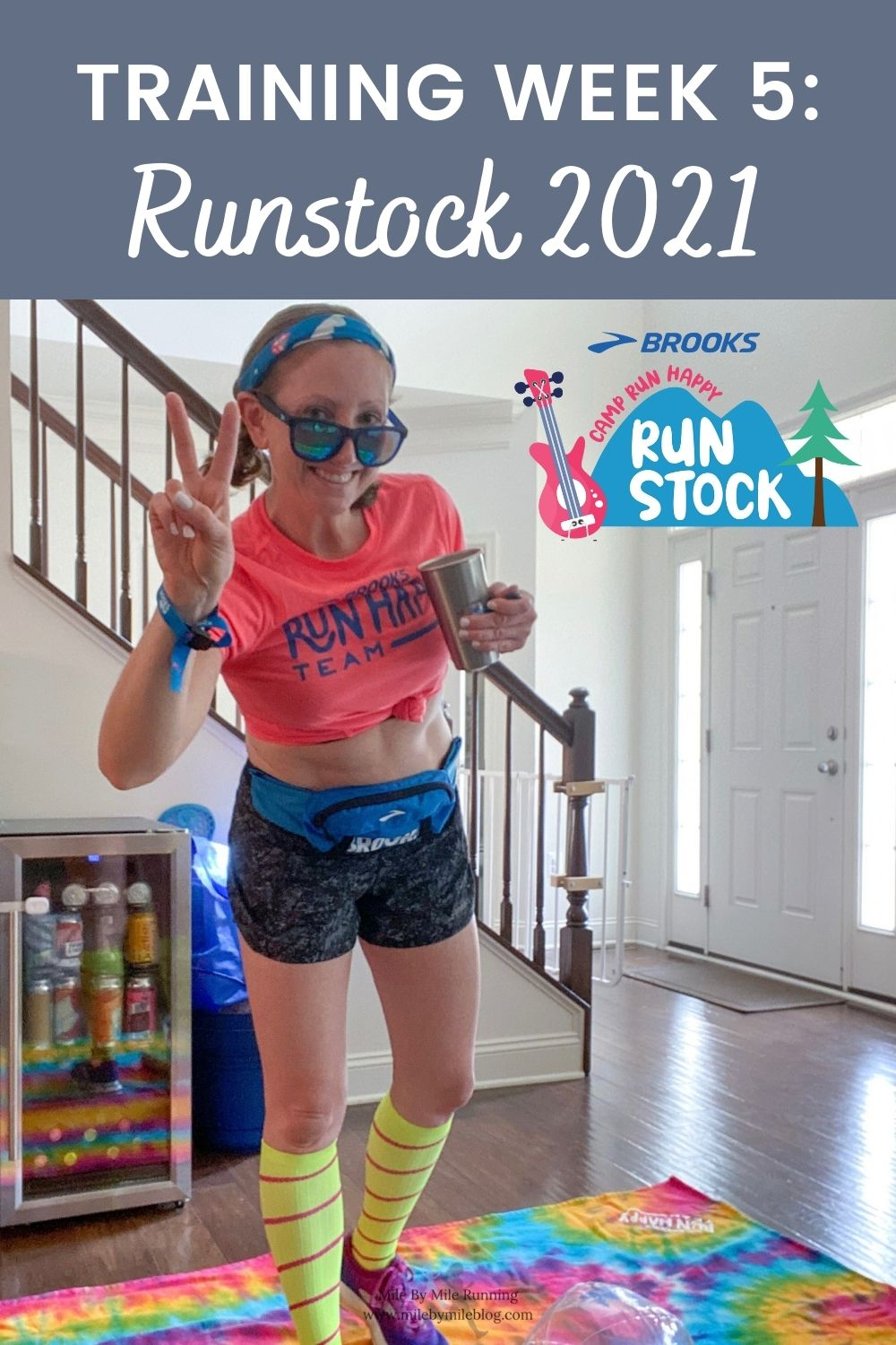 Week 5 of marathon training is already complete! My runs are still pretty manageable and my mileage hasn't been much higher than usual. This week was extra fun because it was Runstock 2021! Let's take a look at training week 5 and Runstock 2021.