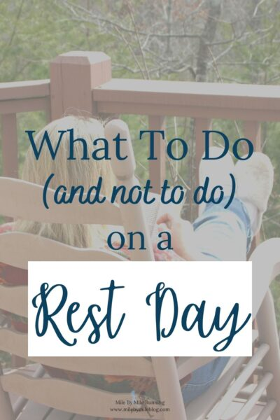 Hopefully you already know the importance of rest days and take them regularly. Some runners need several rest days a week, while others can get by with just one. There are also runners who can take them less frequently, but they are more of the exception and not the rule. So what do you do with yourself on a rest day?