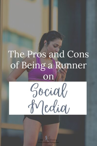 These days you really can't avoid social media. Most people use at least one platform, including runners. But as runners there are many pros and cons to being on social media and connecting with others who share a similar passion for the sport. So, as a runner on social media, what do you need to consider?
